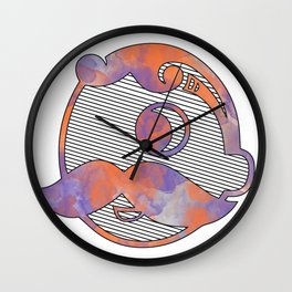 Ravens, O's and Bohs Wall Clock