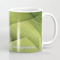 grass Mugs featuring Grass by Yevheniia Hlova