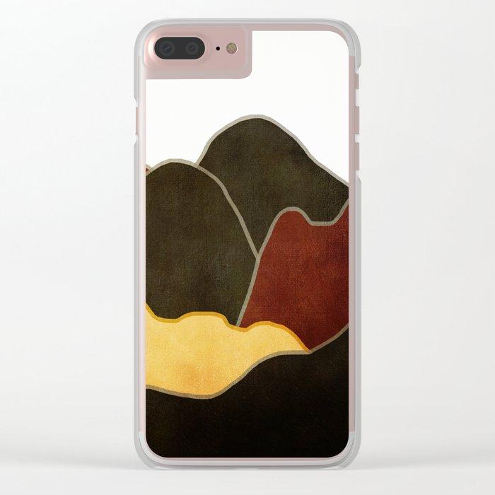 Landscape NC 10 Clear iPhone Case