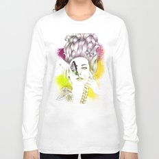 Butterfly Lady Long Sleeve T-shirt