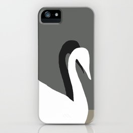 SWANS IN LOVE - Beautiful in every way iPhone Case