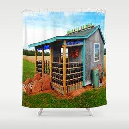Gar's Tavern Shower Curtain