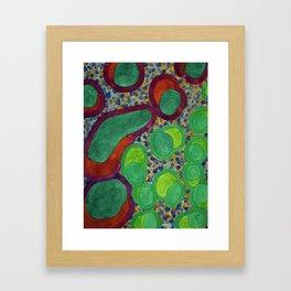 Filled Spicy Vegetables Framed Art Print