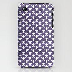 Dragon Scales Deep purple iPhone (3g, 3gs) Slim Case