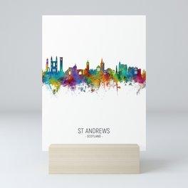 St Andrews Scotland Skyline Mini Art Print