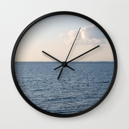 Cloud Contemplation Wall Clock