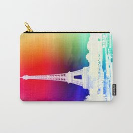 paris. Other Side of the Rainbow Carry-All Pouch