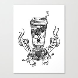 Coffee Lovers Canvas Print