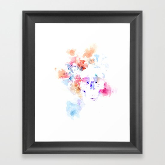 Needs More Skull Framed Art Print