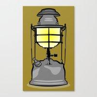 lantern Canvas Prints featuring Lantern by mailboxdisco