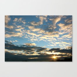 Daybreak Sky Canvas Print