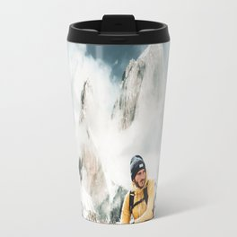 hiking in patagonia Travel Mug