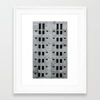 building Framed Art Prints featuring Building by Sumii Haleem