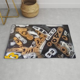 Colby collision Rug