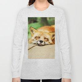 Cutie Foxy Nappy Long Sleeve T-shirt