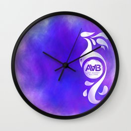 Art Against Bullying 2 Wall Clock