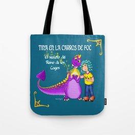 Tina & Carros de Foc Tote Bag