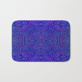 Rivers and Roads Bath Mat