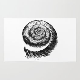 snail abstract I Rug