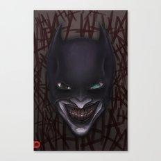 Batjoker Canvas Print