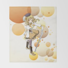Mami Tomoe Throw Blanket
