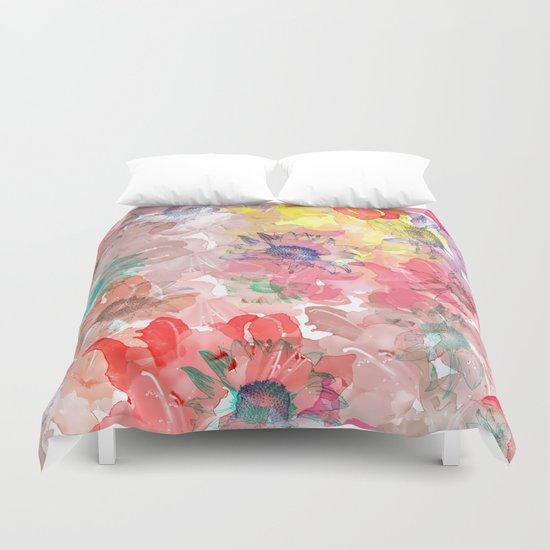 Flower carpet(32). Duvet Cover