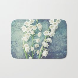 Lily Of The Valley II Bath Mat