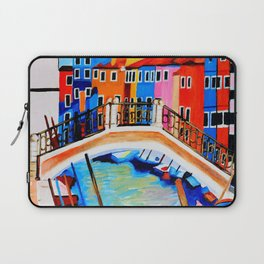 Colors of Venice Italy Laptop Sleeve
