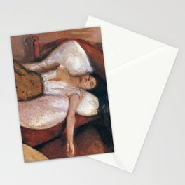 Edvard Munch - The Day After Stationery Cards