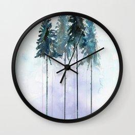 Siberian Forest 2 Wall Clock