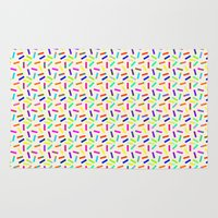 sprinkles Area & Throw Rugs featuring Sprinkles by Gary Hunt Illustration