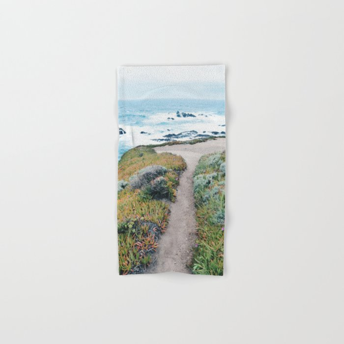The Path to the Ocean Hand & Bath Towel