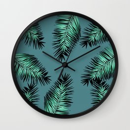 laves palm Wall Clock