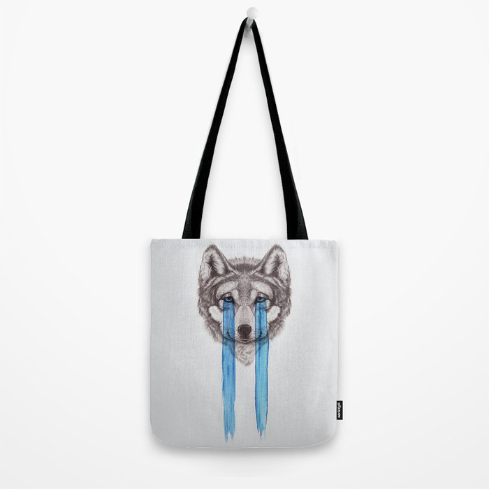 Don't Cry Wolf Tote Bag