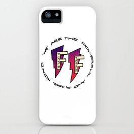 Fizzle Force Logo iPhone Case