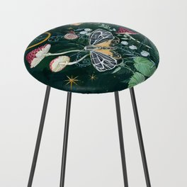 Mushroom night moth Counter Stool