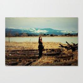 Desolate Charm Canvas Print