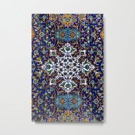 Naghshe-8 Persian Art Metal Print