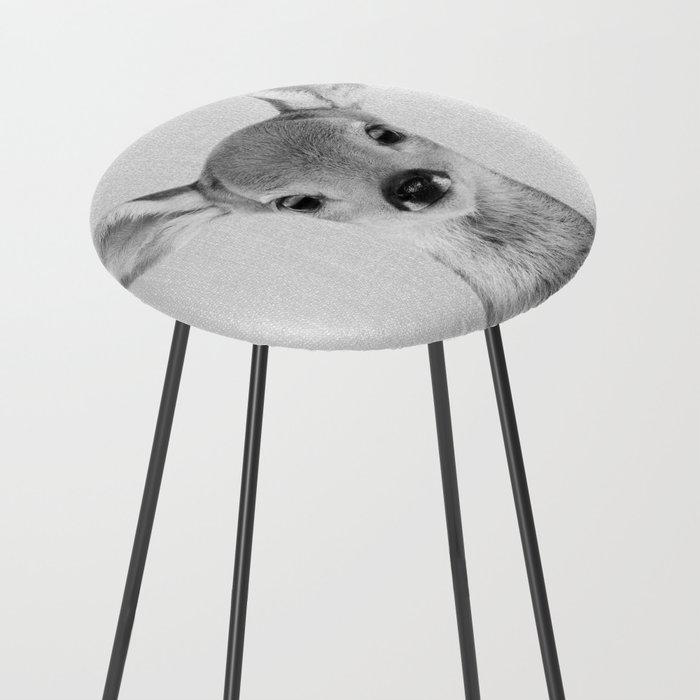 Baby Deer Black Amp White Counter Stool By Galdesign