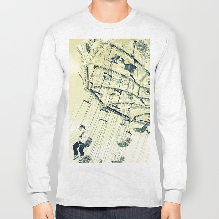 I can touch the sky Long Sleeve T-shirt