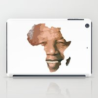 mandela iPad Cases featuring MANDELA by El Pigro