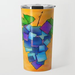 Jamurissa - square grapes Travel Mug