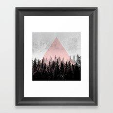 Woods 3X Framed Art Print