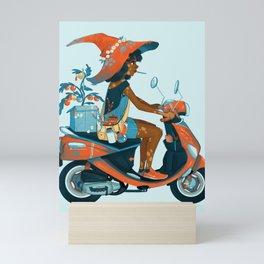 Vespa Mini Art Print