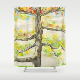 Lady Larch Shower Curtain