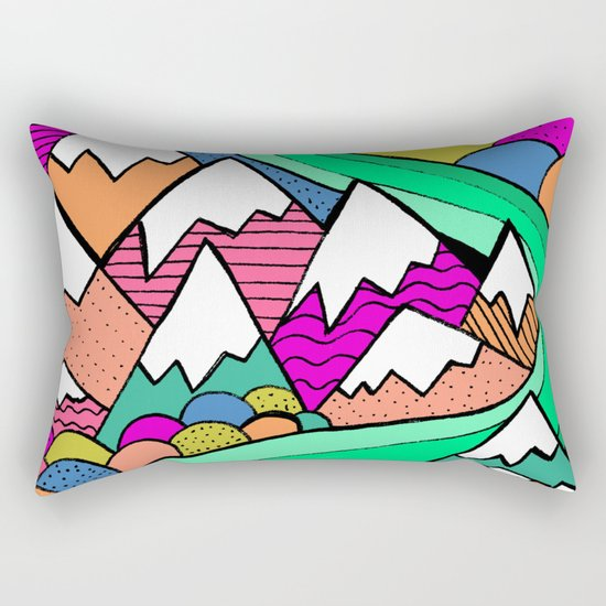 Catscape Rectangular Pillow