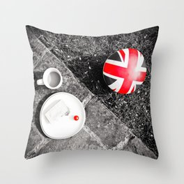 British Sunday | Still Life 88A Throw Pillow
