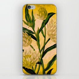 Yellow Floral iPhone Skin