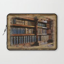 Knowledge - Antique Books on History & Law Laptop Sleeve