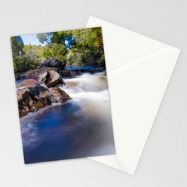 Waterfall on the Overland Track Tasmania Stationery Cards